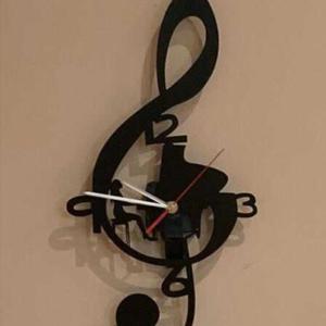 Orologio Chiave di violino personalizzato